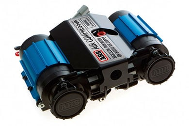 Mitsubishi Montero Sport ARB Twin On-Board Air Compressors