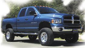 Dodge Ram Performance Accessories Body Lift Kit