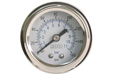 GMC Sierra VIAIR Air Pressure Gauges