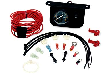 VIAIR Illuminated Dash Panel Gauge Kit
