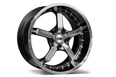 hd wheels cd2o iridium black machined face lip  2
