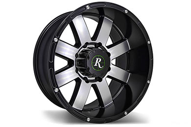 Jeep Wrangler Remington 8-Point Wheels