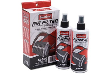 Cadillac Escalade Edelbrock Pro-Charge Air Filter Cleaning Kit