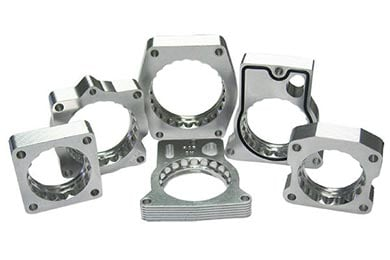 Ford F-250 aFe Silver Bullet Throttle Body Spacers