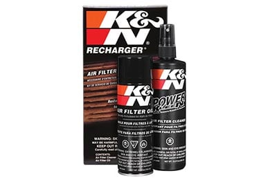 Ford Fiesta K&N Filter Recharger Kit (Aerosol Can)