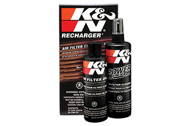 Ford F-150 K&N Filter Recharger Kit (Squeeze Bottle)