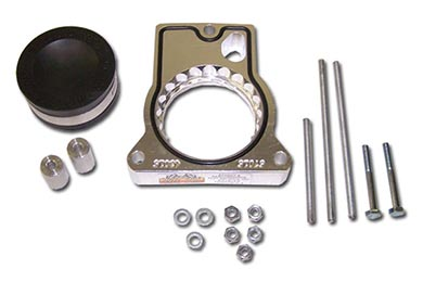 Ford F-250 Taylor Cable Helix Power Tower Throttle Body Spacer