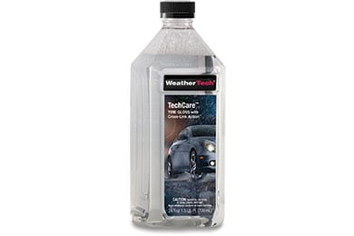 Jeep Wrangler WeatherTech TechCare Tire Gloss with Cross-Link Action