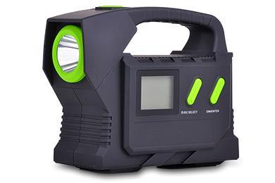 pro z portable jump start kit with led flashlight