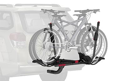 Dodge Charger Yakima HoldUp Bike Rack