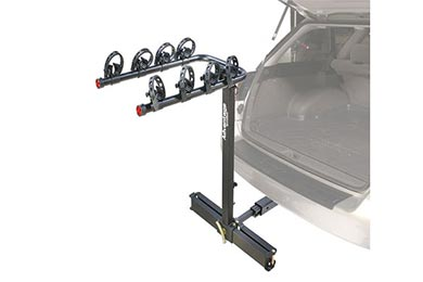 BMW X5 Advantage SportsRack glideAWAY2 Hitch Mount Bike Rack