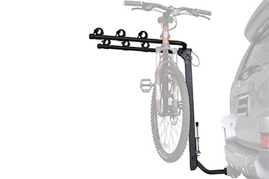 Jeep Wrangler Advantage SportsRack TiltAWAY Hitch Mount Bike Rack