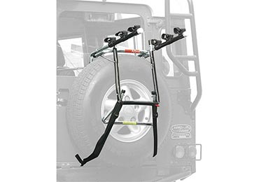BMW X5 Allen Bike Racks Deluxe 3-Bike Spare Tire Rack