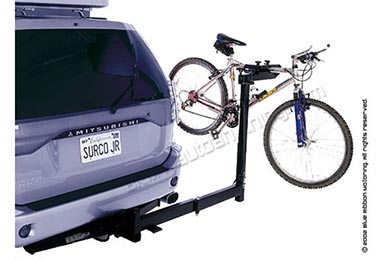 Jeep Wrangler Surco OSI Swing Away Bike Rack