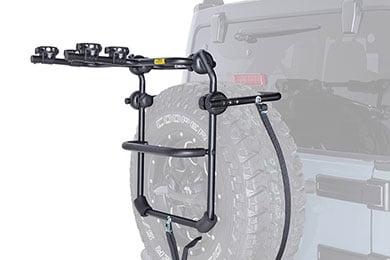 Infiniti G37 Rhino-Rack Spare Wheel Bike Rack