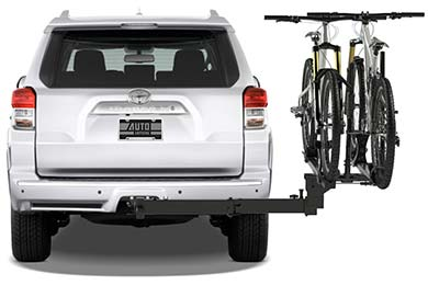 BMW X5 RockyMounts BackStage Hitch Mount Bike Rack