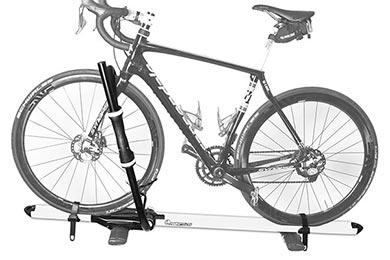 Infiniti G37 RockyMounts BrassKnuckles Roof Bike Rack