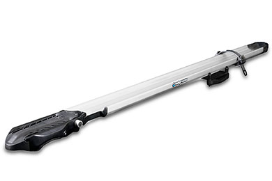BMW X5 RockyMounts SwitchHitter Fork Mount Roof Bike Rack