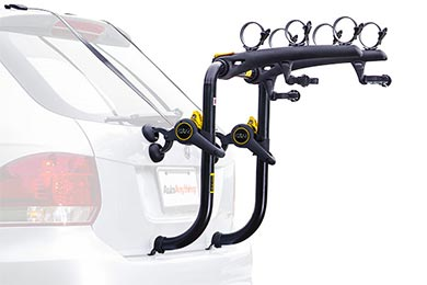 Mazda 3 Saris Bones RS Trunk Mount Bike Rack