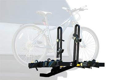 Dodge Charger Saris Freedom Hitch Mount Bike Rack