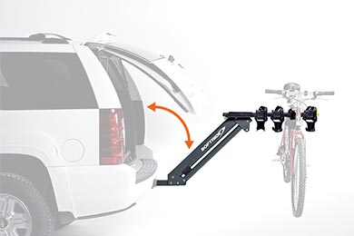 Ford Edge Softride Access Dura 4-Bike Rack