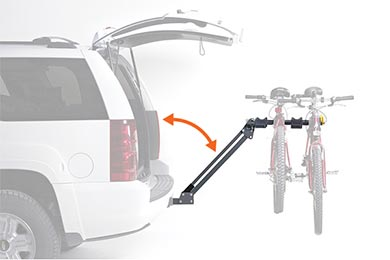 Dodge Charger Softride Access Element Bike Rack
