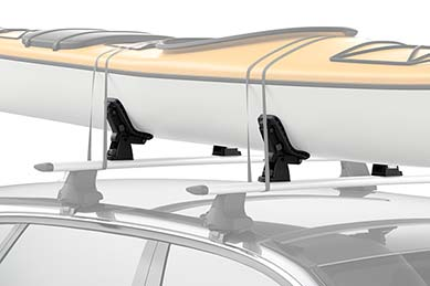 Volvo XC70 Thule DockGrip Kayak Rack