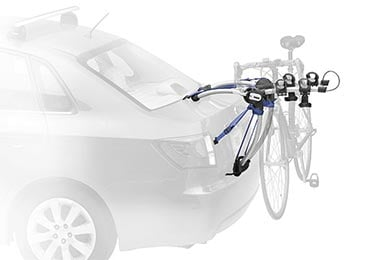 Audi A6 Thule Archway Trunk Mount Bike Rack