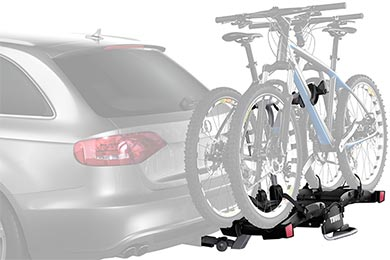 Infiniti G37 Thule EasyFold 9032 Hitch Mount Bike Rack