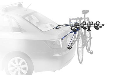 BMW X5 Thule Gateway Trunk Mount Bike Rack