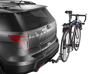 GMC Envoy Thule Helium Aero Hitch Bike Rack