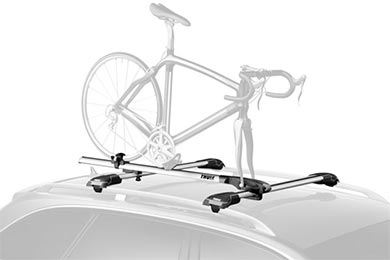Mazda MX-6 Thule Paceline 527 Fork Mount Roof Bike Rack