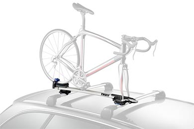 Nissan Altima Thule Sprint T-Track Fork Mount Roof Bike Rack