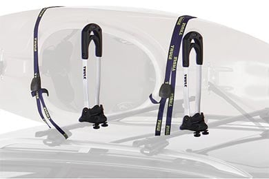 Infiniti G37 Thule Stacker Kayak Carrier
