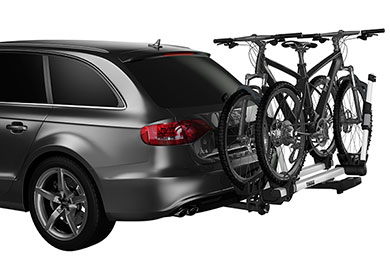 Jeep Wrangler Thule T2 Hitch Mount Bike Rack