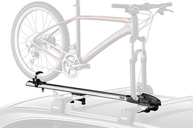 Nissan Titan Thule ThruRide 535 Fork Mount Roof Bike Rack