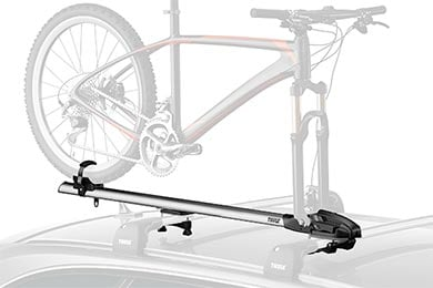 Ford Mustang Thule ThruRide 535 Fork Mount Roof Bike Rack