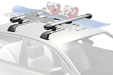 Whispbar WB300 Snow Mount Ski & Snowboard Rack