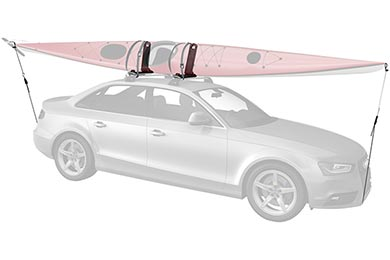 Volkswagen Touareg Whispbar WB400 J-Cradle Kayak Carrier