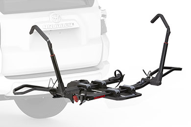 Dodge Charger Yakima DrTray Hitch Mount Bike Rack