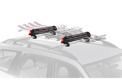 Audi S4 Yakima Big PowderHound Ski & Snowboard Rack