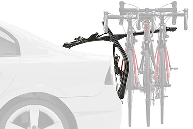 BMW X5 Yakima Fullback Trunk Mount Bike Rack