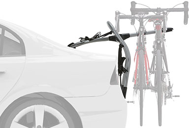 Mazda 3 Yakima Halfback Trunk Mount Bike Rack