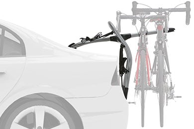 Audi A6 Yakima Halfback Trunk Mount Bike Rack