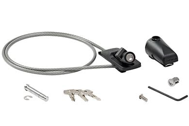 Infiniti G37 Yakima HandCuff Cable Bike Lock