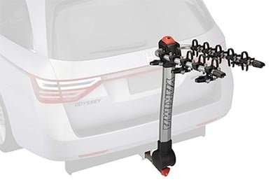 Infiniti G37 Yakima Ridgeback Hitch Mount Bike Rack