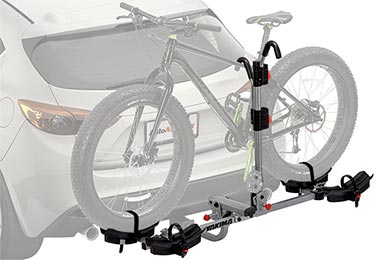 Honda Element Yakima TwoTimer Hitch Mount Bike Rack