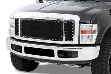 Ford F-350 N-Fab Mesh Grille