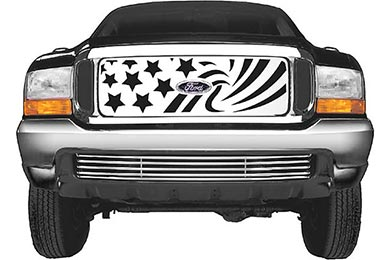 putco patriot grille stainless steel