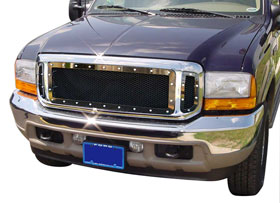Ford F-250 Carriage Works Heavy-Duty Series Mesh Grilles